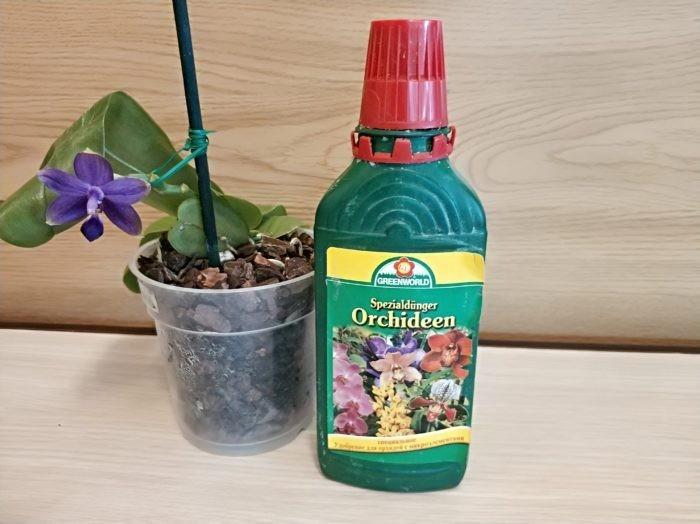 Специальное удобрение для орхидей
